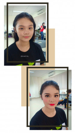 Portfolio-2-Makeup-for-Springfield-Schools-Wicked-The-Musical-Production-oleh-Winnie-di-HelloBeauty