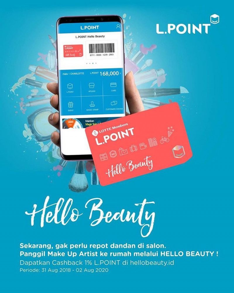 HelloBeauty x LOTTE Point