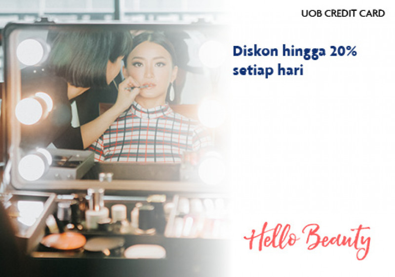 HelloBeauty x UOB Credit Card