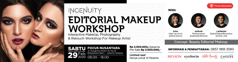 INGENUITY Editorial Makeup Workshop