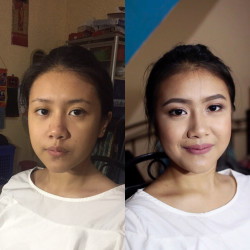 Portfolio-8-Makeup-Party-for-Ms-Sarah-Michelle-with-her-Natural-Lashes-oleh-Kezia-Adeline-di-HelloBeauty