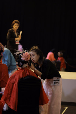 Portfolio-6-Cosmobeaute-2017-makeup-competition-Skeleton-flower-oleh-Pinkiee-Bee-makeup-di-HelloBeauty