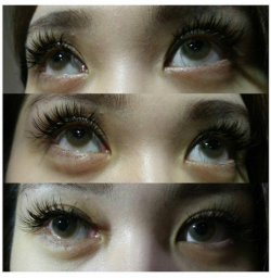 Portfolio-4-Korean-eyelash-extension-02-Black-DiamondCurl-CLength-8mm-13mmStyle-Glamour-Looks-oleh-Sumei-Chai-di-HelloBeauty