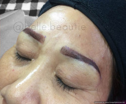 Portfolio-4-Technique-Combo-MicrobladingShadingColour-Dark-BrownGet-your-eyebrows-beautified-at-Belle-BeautieContact-oleh-Belle-Beautie-di-HelloBeauty