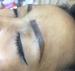 Portfolio-8-Technique-Combo-MicrobladingMistyColour-BrownGet-your-eyebrows-beautified-at-Belle-BeautieContact-oleh-Belle-Beautie-di-HelloBeauty